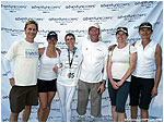 Link to photo at finish with support team