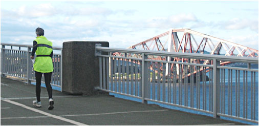 Crossing the Forth Road Bridge